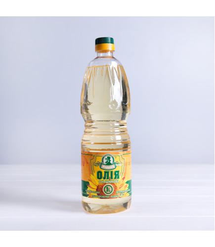 Олія соняшникова рафінована дезодорована виморожена, марки «П», 1л - Торговельна марка Жирновъ