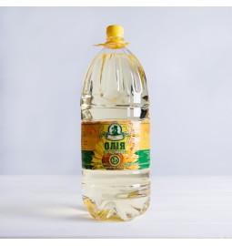 Олія соняшникова рафінована дезодорована виморожена, марки «П», 5л - Торговельна марка Жирновъ