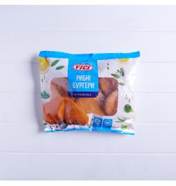 Рибні бургери в паніровці заморожені, 500g - Торгова марка VICI