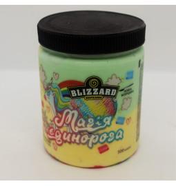 """Морозиво пломбір """"МАГІЯ ЄДИНОРОГА"""" (Рецепт 24) 500 мл (ml) - Торгівельна Марка Blizzard"""