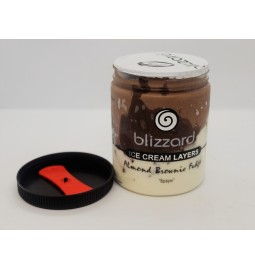 "Мороженое пломбир из натурального молока и сливок ""БРАУНИ"" (Рецепт 16) 500 мл (ml) - Торговая Марка Blizzard"