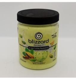 """Морозиво пломбір з натурального молока та вершків """"ФІСТАШКА"""" (Рецепт 11) 500 мл (ml) - Торгівельна Марка Blizzard"""