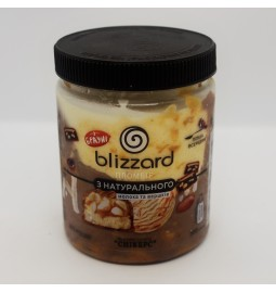 "Пломбир из натурального молока и сливок ""СНИКЕРС"" (Рецепт 15) 500 мл (ml) - Торговая Марка Blizzard"