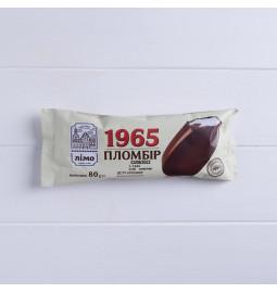 Морозиво ескімо пломбір «1965» в шоколадній глазурі, 12% в 80g (г) - Торгова марка «Лімо»