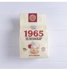 Морозиво пломбір «1965» 700g, 12%, морозиво у паперовому пакеті - Торгівельна марка «Лімо»