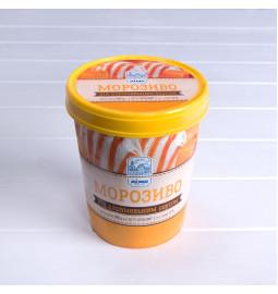 Морозиво під карамельним соусом «ЛІМО» 500g, 12%, у паперовому відерці - Торгівельна марка «Лімо»