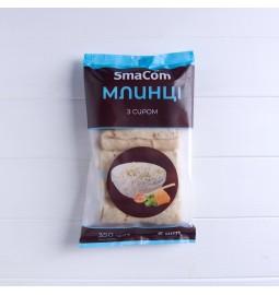 Млинці «З сиром», фасовані у пакеті, 350g (6 шт.) - Торгівельна марка «SmaCom»