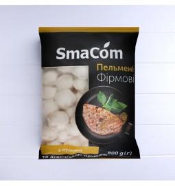 Пельмені «Фірмові» курині з діжонською гірчицею, заморожені, 800g - Торгівельна марка «SmaCom»
