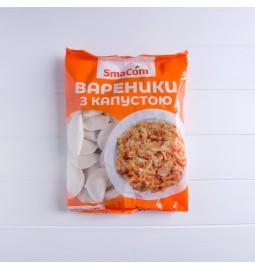 Вареники «З капустою», заморожені, 800g - Торгівельна марка «SmaCom»