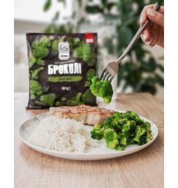 """Капуста броколі, 400 g - Овочі швидкозаморожені - Тогрівельна Марка """"Лімо"""""""