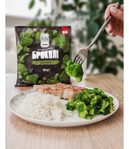 Капуста броколі, 400 g - Овочі швидкозаморожені - Тогрівельна Марка